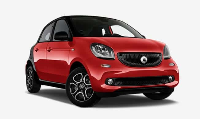 smart forfour private lease